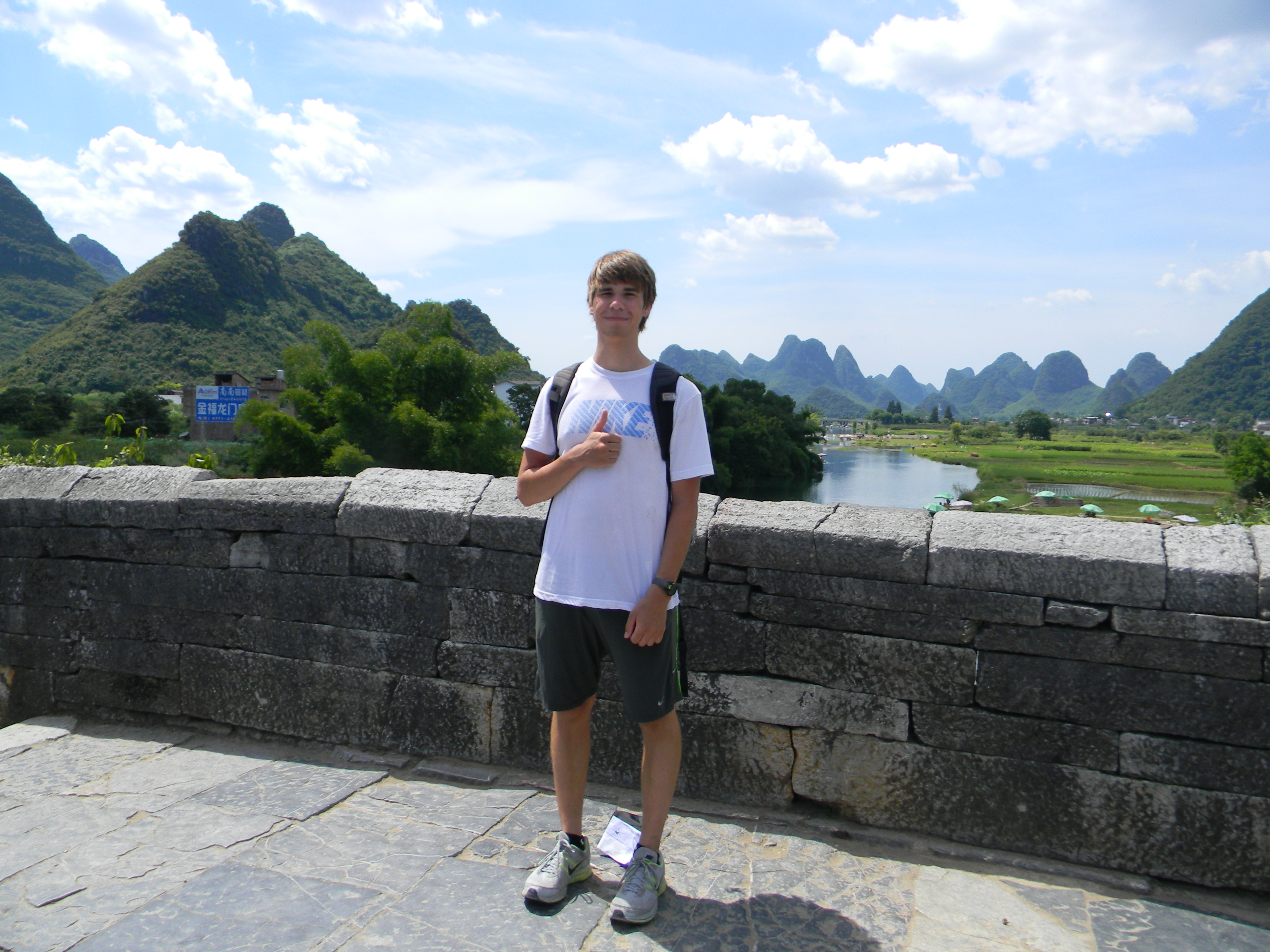 Nathan in Yangshuo